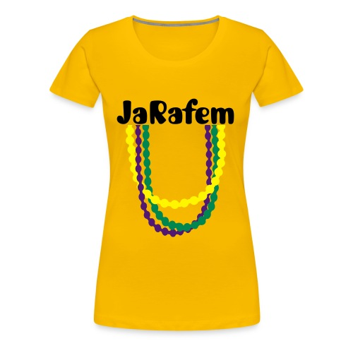 JaRafem and Necklace Womens T-shirt - Women's Premium T-Shirt