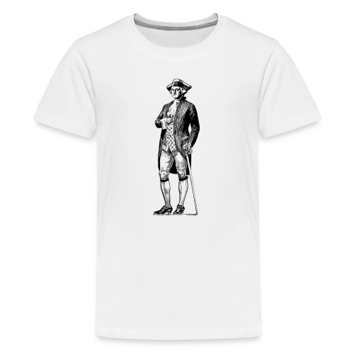 George Washington Standing Tall - Kids' Premium T-Shirt