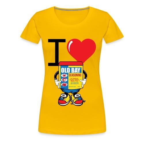 Old Bay Love - Women's Premium T-Shirt