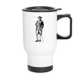 George Washington Standing Tall - Travel Mug