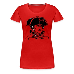 George Washington  - Women's Premium T-Shirt