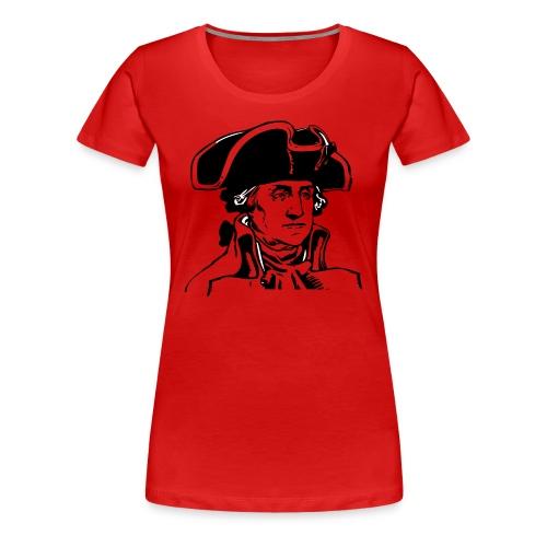 George Washington  - Women's Premium T-Shirt