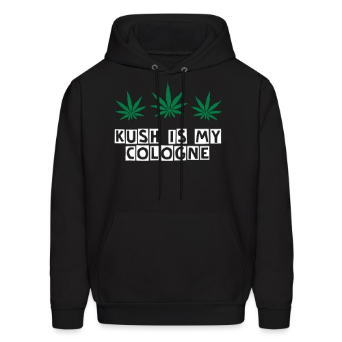 KushIsMyCologne  - Men's Hoodie
