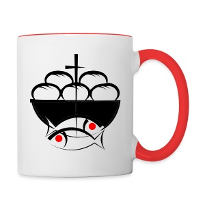 Loaves and Fishes - Contrast Coffee Mug