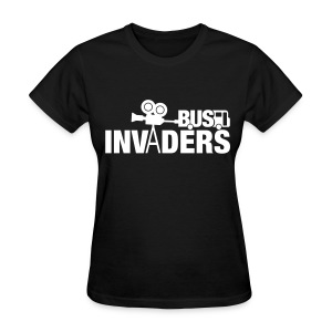 Bus Invaders Women's T-shirt - White Design - Women's T-Shirt