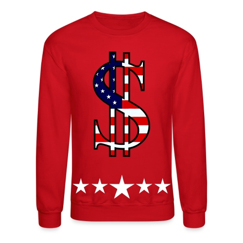 Cash flag crewneck sweatshirt - Crewneck Sweatshirt