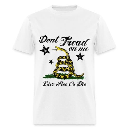 Gasden Live Free or Die Men's T - Men's T-Shirt