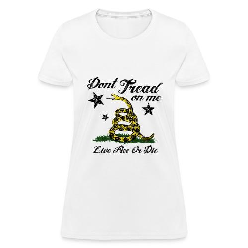 Gasden - Live Free Or Die Women's T - Women's T-Shirt