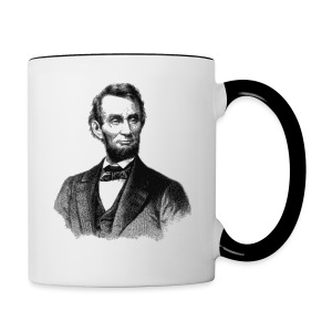 Abraham Lincoln - Contrast Coffee Mug