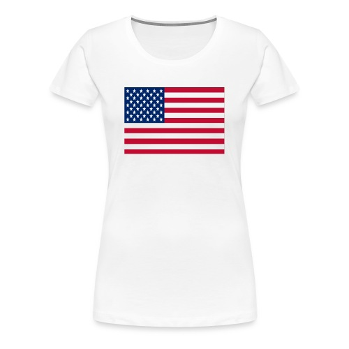 The Stars and Stripes - Women's Premium T-Shirt