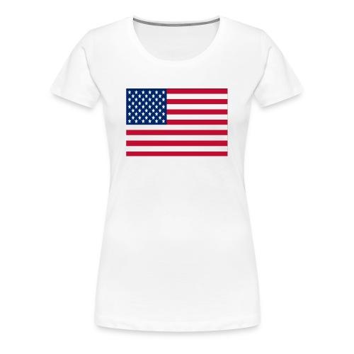 The Stars and Stripes - Women's Premium T-Shirt