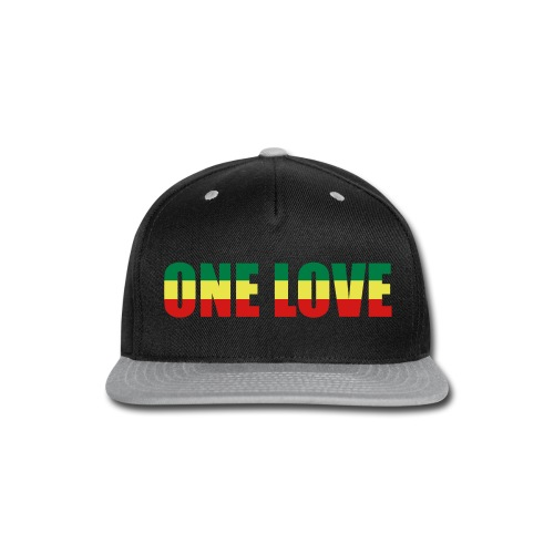 one love snap-back - Snap-back Baseball Cap
