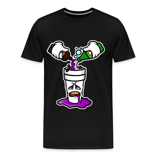 Po Up T shirt - Men's Premium T-Shirt
