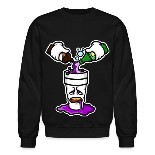 Po Up Crew Neck Sweater - Crewneck Sweatshirt