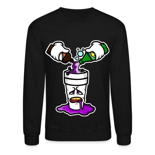 Po Up Crew Neck Sweater - Crewneck Sweatshirt