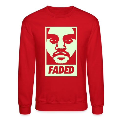 Faded Obey [Glow in the Dark] - Crewneck Sweatshirt