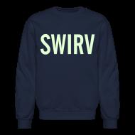 Long Sleeve Shirts ~ Crewneck Sweatshirt ~ Swirv [Glow in the Dark]