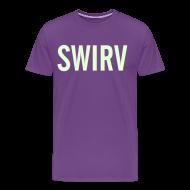 T-Shirts ~ Men's Premium T-Shirt ~ Swirv [Glow in the Dark]
