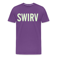T-Shirts ~ Men's Premium T-Shirt ~ Swirv [Glow in the Dark]