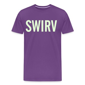 Swirv [Glow in the Dark] - Men's Premium T-Shirt