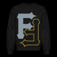 Long Sleeve Shirts ~ Crewneck Sweatshirt ~ F & F [metallic silver & gold]