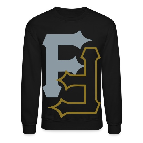 F & F [metallic silver & gold] - Crewneck Sweatshirt