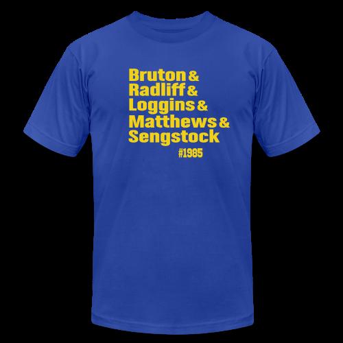 Brisbane 1985 - Men's Fine Jersey T-Shirt