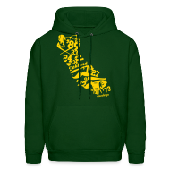 Hoodies ~ Men's Hoodie ~ We Run California - Men's Hoodie