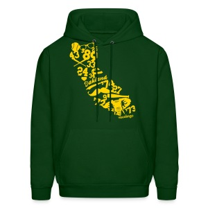 We Run California - Men's Hoodie - Men's Hoodie