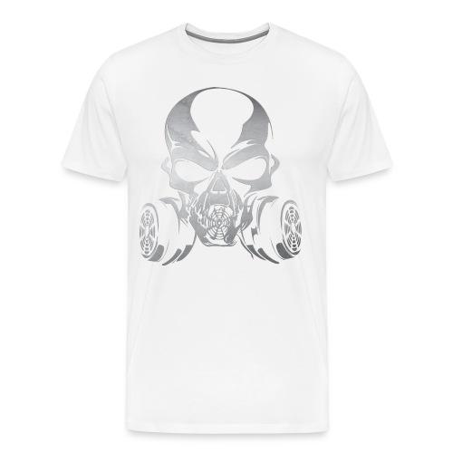 Phosgene B&W - White - Men's Premium T-Shirt