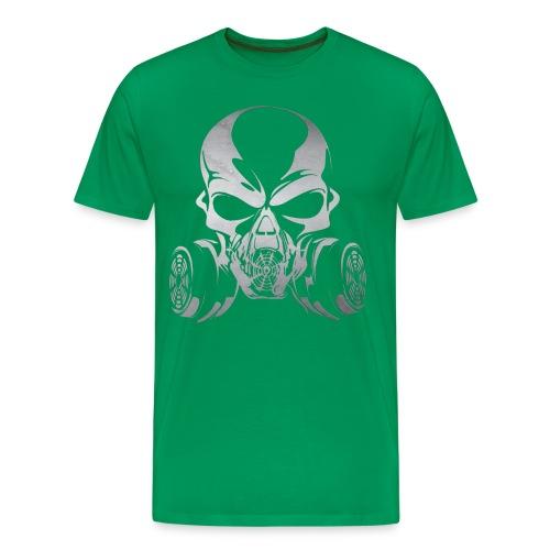Phosgene B&W - Green - Men's Premium T-Shirt