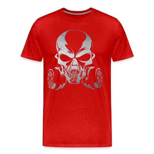 Phosgene B&W - Red - Men's Premium T-Shirt