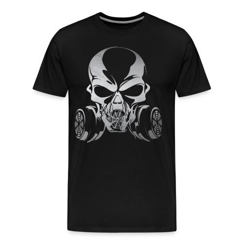 Phosgene B&W - Black - Men's Premium T-Shirt