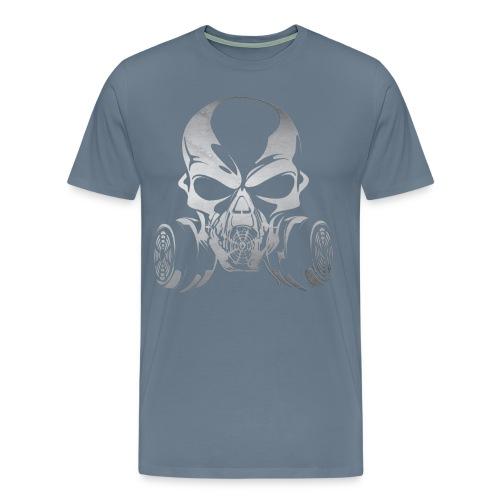 Phosgene B&W - Orange - Men's Premium T-Shirt