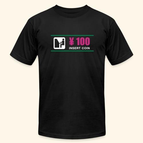 ¥ 100 - Men's Fine Jersey T-Shirt
