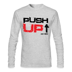 Push-Up long sleeve light - Men's Long Sleeve T-Shirt by Next Level