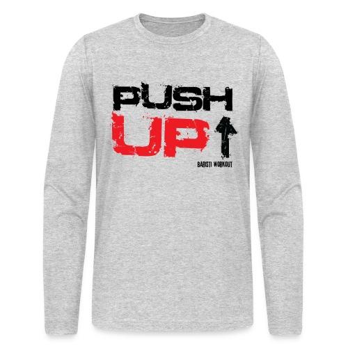 Push-Up long sleeve light - Men's Long Sleeve T-Shirt by Next Level