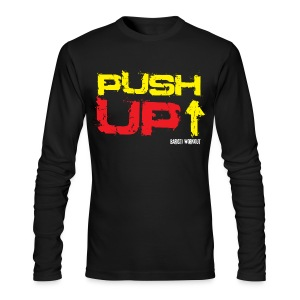 Push-Up long sleeve dark - Men's Long Sleeve T-Shirt by Next Level