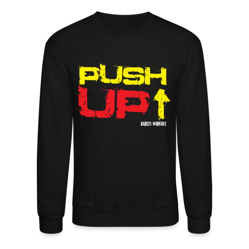 Push-Up Sweatshirt dark - Crewneck Sweatshirt
