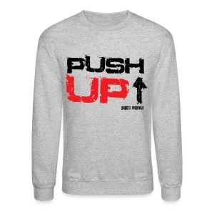 Push-Up Sweatshirt light - Crewneck Sweatshirt