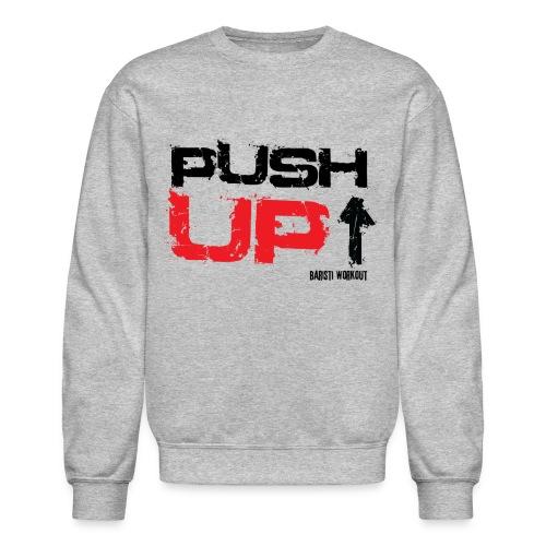 Push-Up Sweatshirt light - Crewneck Sweatshirt