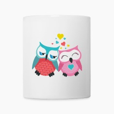 owls in love  Bottles & Mugs