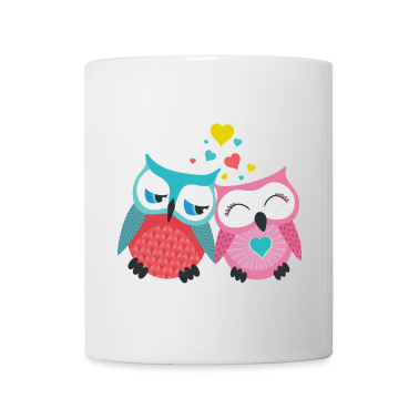 owls in love  Bottles & Mugs