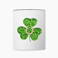 Shamrock And Horseshoe Mug