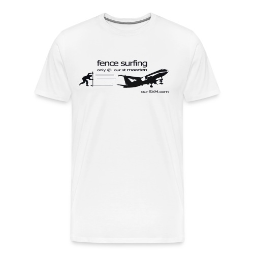 Fence Surfing - Men's Premium T-Shirt