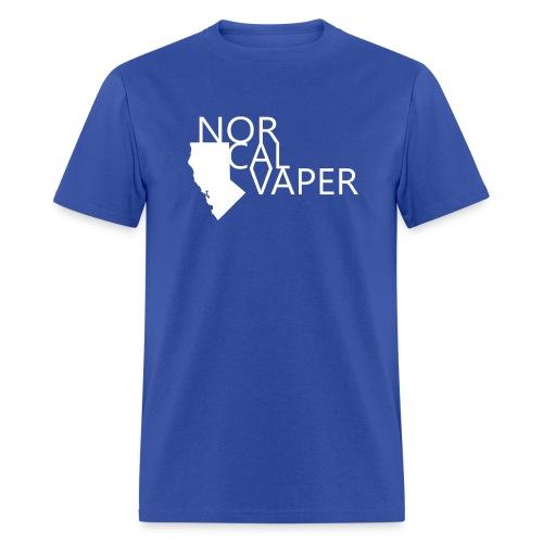 NorCal Vaper - Blk Logo - Men's T-Shirt