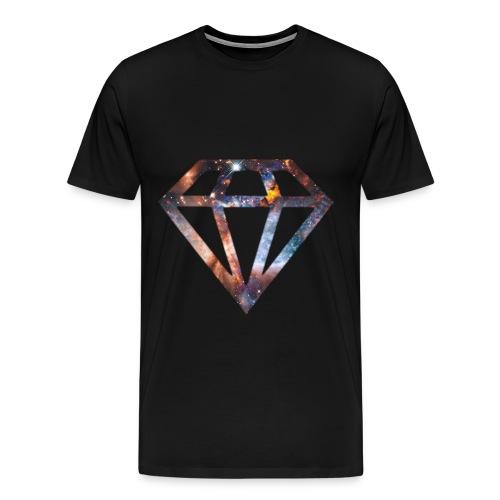 DIAMONDS IN THE GALAXY - Men's Premium T-Shirt