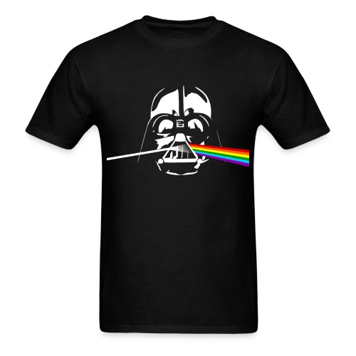 Darth Side of the Moon - Graphic T-Shirt from manateeshirtco.com - Men's T-Shirt