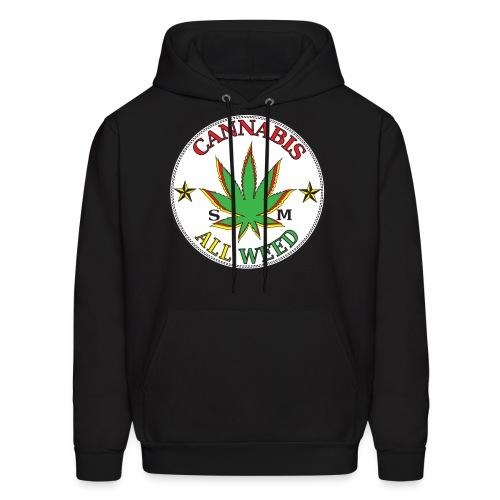 Cannabis All Weed Hoodie - Men's Hoodie
