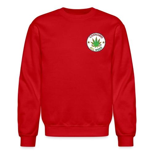 Cannabis All Weed Crew Neck - Crewneck Sweatshirt